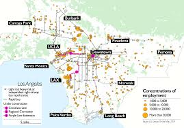 Map Of Long Beach As Transit Expands In Los Angeles Will Walkability Follow