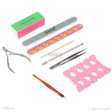 wholesale nail art set manicure tools nail file buffer cuticle