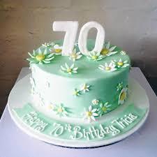 70th birthday cakes floral 70th birthday cake three sweeties