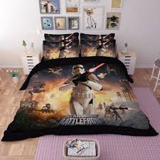 Beddings Sets 3d Wars Beddings Set Single King Size Stormtrooper