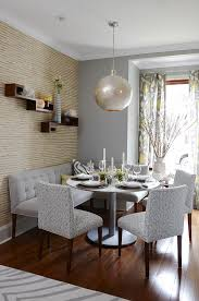 Dining Room Sets With Bench Seating by How To Go Gray When Your Entire House Is Beige Pt 2 Of 2