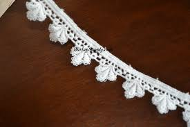 wide lace ribbon white lace ribbon 1 inch wide x 10 yards