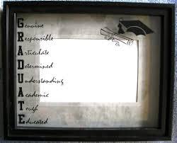 graduation frames graduate photo frame glass reflection easel or hook acrostic poem