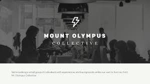 Seeking Zeus Zeus Jones Mount Olympus Collective Summer Internship Program