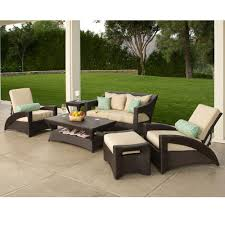 6 Piece Patio Set by Pacific 6 Piece Patio Deep Seating Collection 1600 Includes