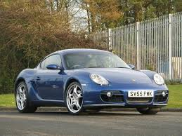 used porsche cayman 2006 petrol 3 4 s 2dr coupe silver manual for