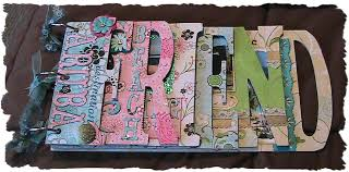 friends photo album fantabulous cricut challenge scrappin saturday friendship