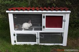 Build Your Own Rabbit Hutch 9 Completely Free Diy Rabbit Hutch Plans