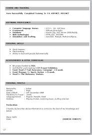 resume format freshers free download document resume format for freshers free download latest in word menu and