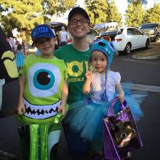family theme halloween costumes chadwicks u0027 picture place monsters university family theme