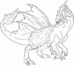 fire dragon coloring pages coloring