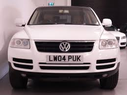 volkswagen touareg white used white vw touareg for sale hampshire