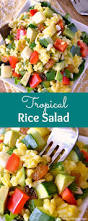 tropical rice salad hello little home