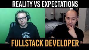 Web Developer Meme - fullstack web developer reality vs expectations youtube