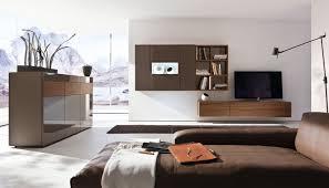 Wohnzimmer Nussbaum Ideen Moderner Wohnzimmer Wohnwand Lackiertes Holz Nussbaum Neo