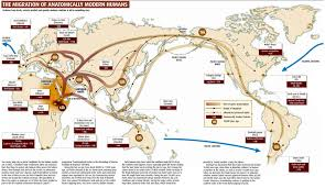 World Map Timeline by Timeline Map Of Human Migrations Across Continents 1911x1100