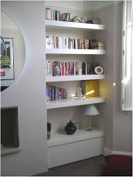 Bathroom Wall Shelves Ideas Floating Wall Shelf With Drawer Organized Bathroom Wall Shelf