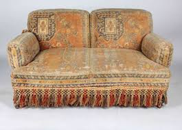 Tapestry Sofa Living Room Furniture 19th Century Au Bon Marché Moorish Tapestry Sofa And Chairs Set