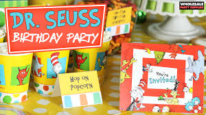 dr seuss birthday party supplies dr seuss birthday party party ideas activities by wholesale