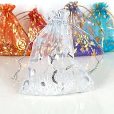 white organza bags aliexpress buy fengrise white organza bags 50pcs silver