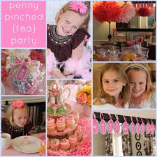 girls tea party on a budget passionate penny pincher the