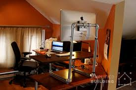 diy standing desk converter diy standing desk converter step by step plans simplified building