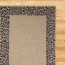Leopard Print Outdoor Rug Metal Virgil Accent Table World Products And Rugs