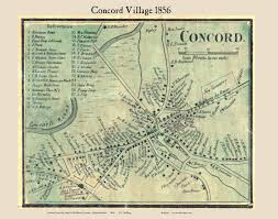 Concord Massachusetts Map by Directory Z Bigcomm Img Ma Town Middlesexco 1856