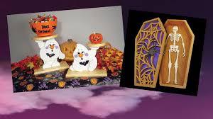 making halloween luminaries scroll saw woodworking u0026 crafts
