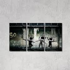 2017 guarantee canvas art banksy wall panel painting digital see larger image