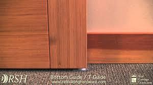 Kinkead Shower Door Parts by Doors Guide U0026 Slide Co 164488 Bypass Door Guide Dark Brown Bi