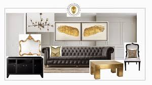 Grey And Gold Living Room Amanda Forrest Style