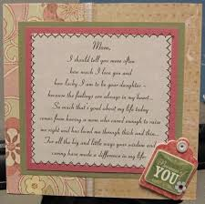 mom poem birthday card by nettiesexpressions cards and paper