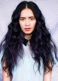 black hairstyles purple dark purple and black hair hairstyle for women man