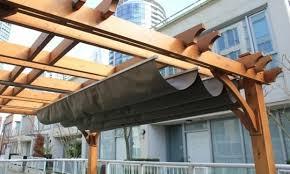 Retractable Awning Pergola How To Make A Retractable Pergola Roof Popular Roof 2017