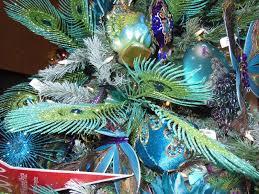 taste macy u0027s peacock themed christmas tree 2012