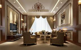 Luxury Living Room Furniture 3d Interior Design Luxury Living Room Cgtrader
