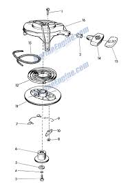 evinrude starter parts for 1957 7 5hp 15020 outboard motor