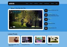 templates for video website 10 free video website templates wordpress blogger youtube