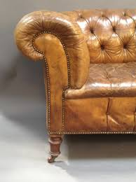 Antique Chesterfield Sofas by 19th Century Leather Button Back Chesterfield Sofa Antiques Atlas