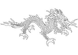 chinese dragon coloring pages print chinese coloring