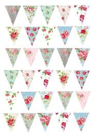 printed wafer paper a4 sheets floral buntings baking and cooking