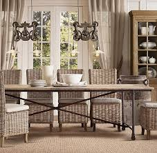 restoration hardware 17 c monastery table my hunt for the perfect kitchen table driven by decor