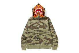 more bape tiger camo hoodies are coming home just legit checks