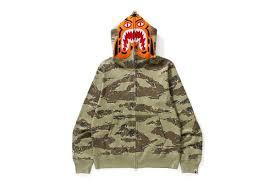 more bape tiger camo hoodies are coming home just legit checks