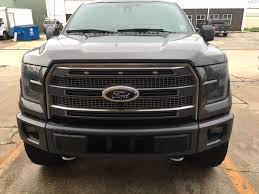raptor front clearance lights on platinum ford f150 forum