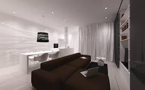 Living Room Minimalist Apartment Minimal Studio Architects - Minimalist apartment design