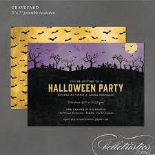 106 best halloween invitations images on pinterest halloween