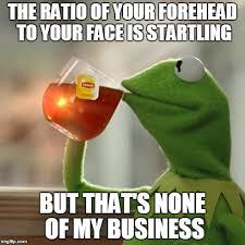 Big Teeth Meme - haha bangs honey bangs haaaaaaate big foreheads and big teeth