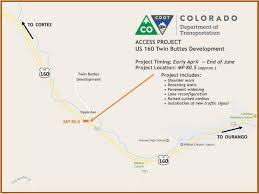 Cortez Colorado Map by Construction To Begin For New Signal On Highway 160 At Twin Buttes